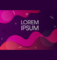 modern abstract background design vector image vector image