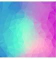Polygonal background for web design vector image