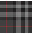 Pride of scotland silver tartan fabric texture vector image vector image