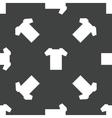 T-shirt pattern vector image vector image