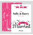 Wedding romantic floral save date invitation