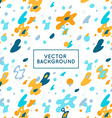 decorative abstract background vector image vector image