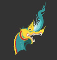 dragonThai preview vector image vector image