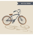 Trendy bike vector image vector image