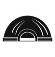 aboriginal dwelling icon simple style vector image