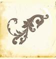 baroque of vintage elements for design vector image vector image