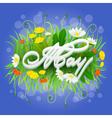 FlowerHolidays vector image