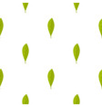 green leaf pattern seamless vector image vector image