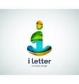 Letter i logo vector image vector image