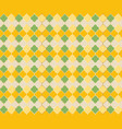 traditional mosque pattern with gold grid vector image