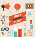 Vetor graphic designer vector image