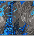 abstract pattern gray and blue shapeless wavy