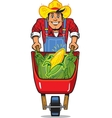 Corn Farmer vector image