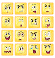 Different facial expressions vector image vector image