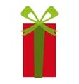gift christmas isolated icon vector image
