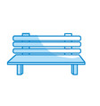 silhouette comfortable chair to relaxation object vector image vector image