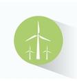 wind energy turbines clean vector image vector image