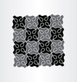 abstract background black pattern geometric design vector image vector image