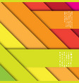 abstract background with stripes and shadows vector image
