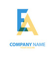 ae ea initial logo concept can be used