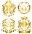 award lable vector image vector image