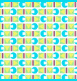 geometric abstract modern background vector image vector image