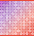 geometric background of circles round mosaic vector image vector image