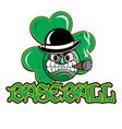irishbaseball vector image vector image