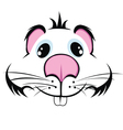 muzzle-hamster vector image