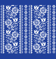 scandinavian style seamless pattern vector image vector image