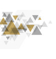 abstract luxury background design triangle vector image vector image