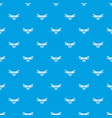 drone video camera pattern seamless blue vector image vector image