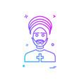father icon design vector image vector image