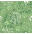 Green and white background vector image vector image