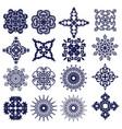 snowflakes2 vector image
