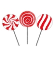 sweet candy design vector image vector image