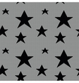 Lace seamless pattern with stars vector image
