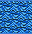 abstract seamless pattern swa wavy elements vector image