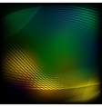 Abstract yellow-green background vector image vector image
