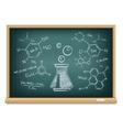 board chemistry vector image