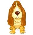 cartoon character dog vector image vector image