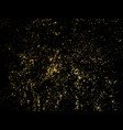 gold glitter particles background for luxury vector image