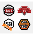 Modern Design Labels layout vector image vector image