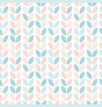 scandinavian floral seamless pattern vector image vector image
