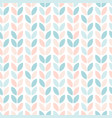 scandinavian style floral seamless pattern vector image vector image