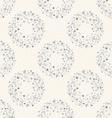 Stylish dots texture A seamless polka dot vector image vector image