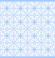 abstract seamless winter pattern with geometric vector image