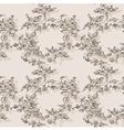 floral seamless rose rustic vector image vector image