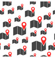 location pin gps seamless pattern business vector image vector image