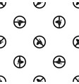 no moth sign pattern seamless black vector image vector image